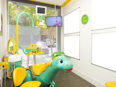 Mobiliario odontología infantil