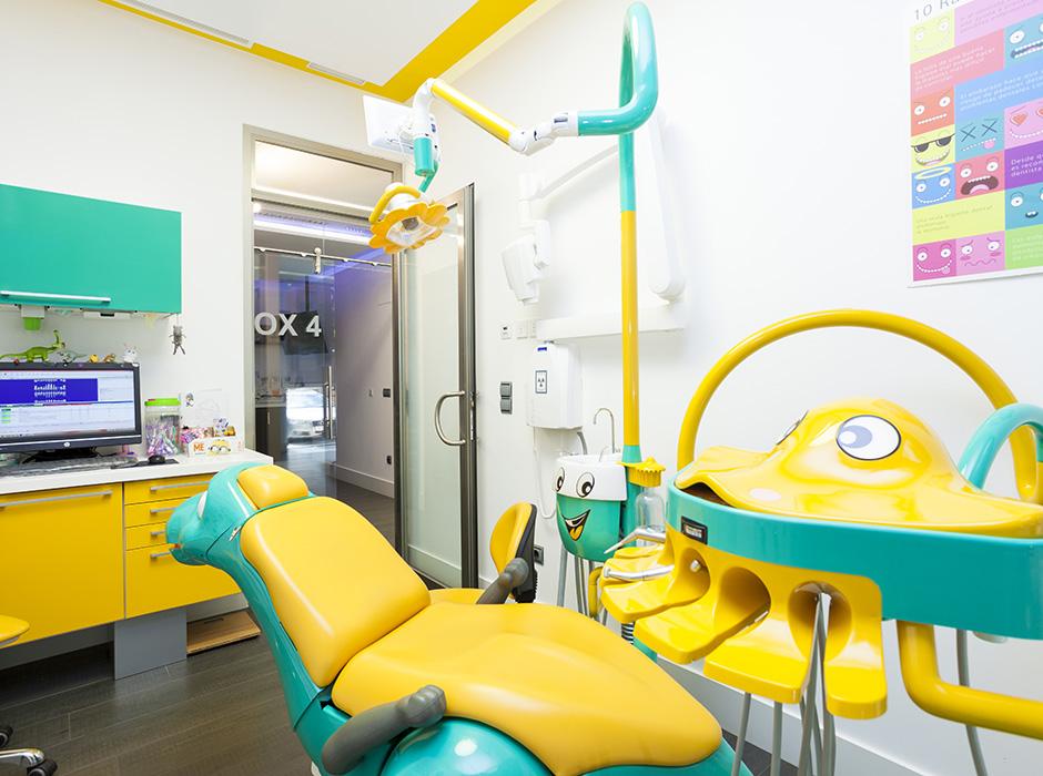 Sala de odontopediatría